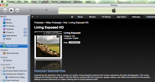 Living Exposed HD on iTunes
