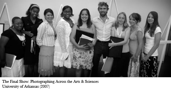 The Final Show: Photographic Across the Arts & Sciences, University of Arkansas (2007)