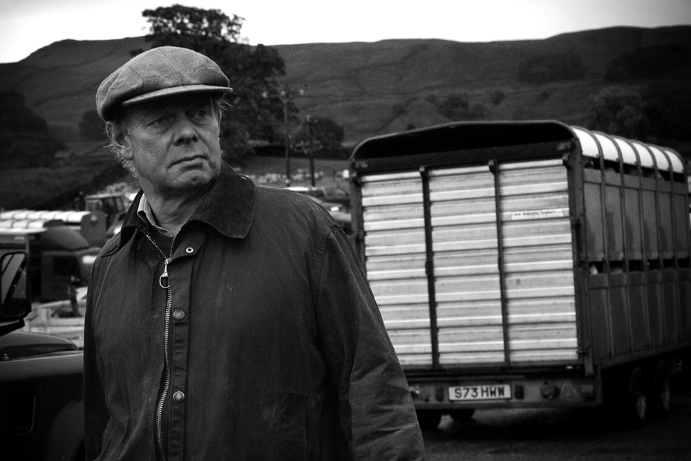 Yorkshire Man at Hawes Sheep Auction by Katii Tornick for Living Exposed