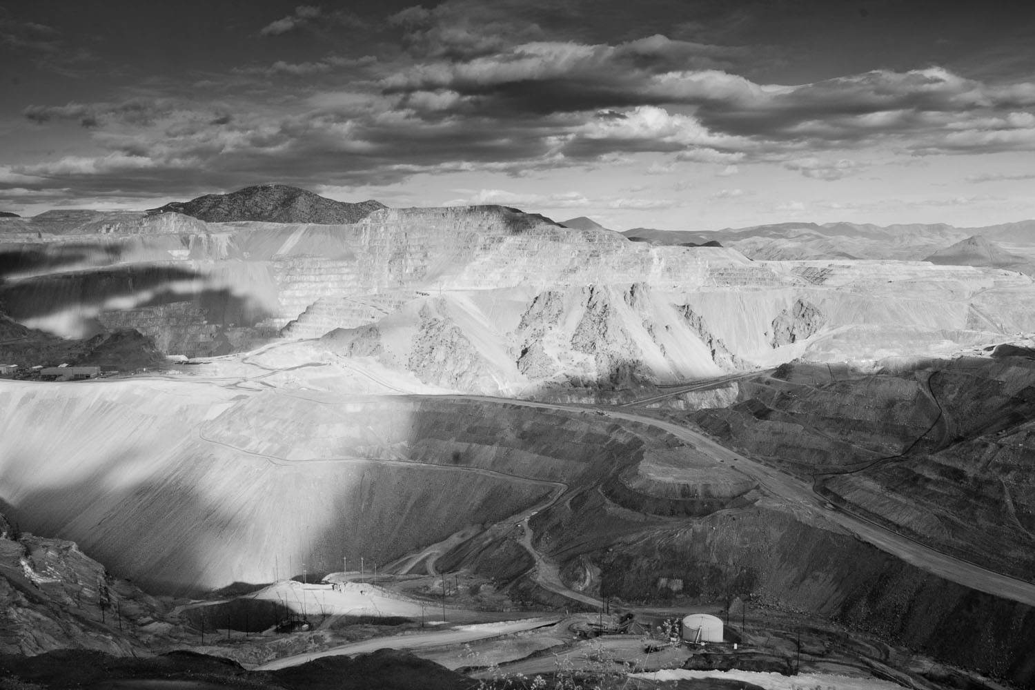 Open Pit Mining in Morenci by Jesse Ward Stephen