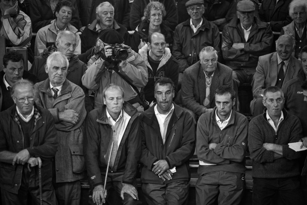 Photographing the Hawes Sheep Auction (Yorkshire, England) by Victor Arnold
